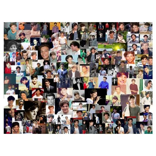 Amazon.com : ***NEW 2013***Louis Tomlinson 1D collage One Direction