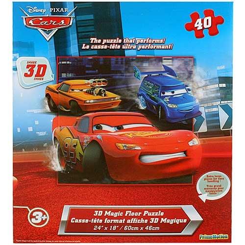 Cheap Cars Disney Pixar Cars 3D Magic Floor Puzzle [40 Pieces] (B004P3JERS)