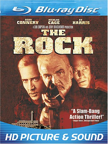 Blu-ray : The Rock (, Dubbed, Dolby, AC-3, Widescreen)