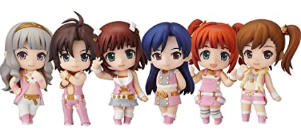 Good Smile Company - The Idolmaster 2 assortiment figurines Nendoroid Stage 01 7 cm (
