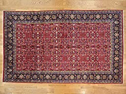 10\'x16\' Gallery Size Hand Knotted Semi Antique Persian Mashad Oriental Rug G22383