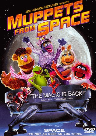 Cover art for  Muppets From Space