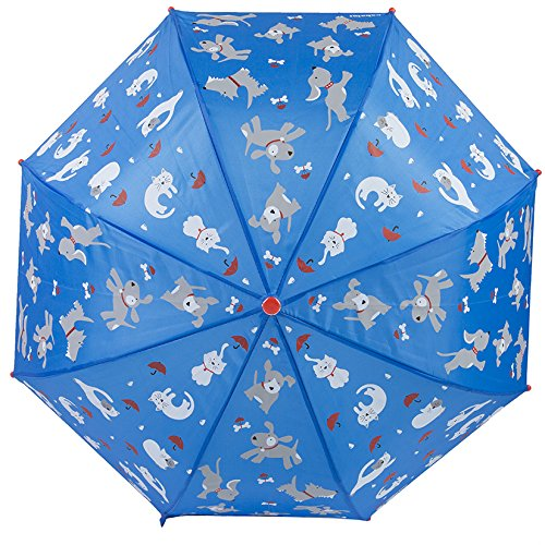 Kids Umbrella - Childrens 18 Inch Rainy Day Umbrella - Raining Cats and Dogs