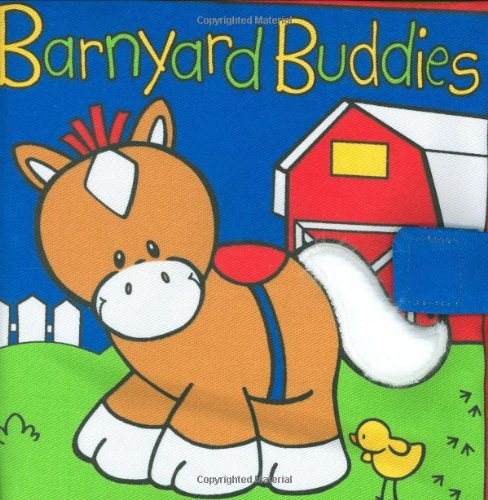 Baby Gund Barnyard Buddies (Baby Gund Fabric Activity Books) front-1048175