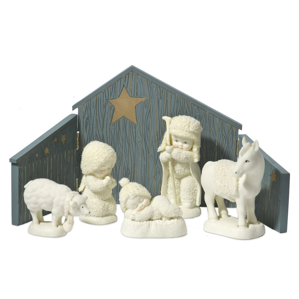 Department 56 Snowbabies Classics In Bethlehem Nativity Set