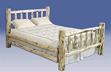 Montana Woodworks Rustic Log Bed