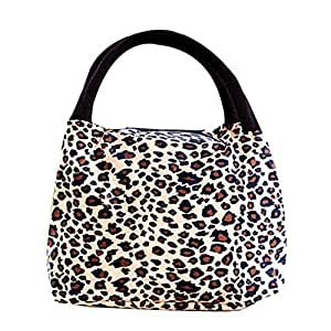 airstomi best lunch tote bag with zipper hangbag leopard fashion women lunch bag. Black Bedroom Furniture Sets. Home Design Ideas