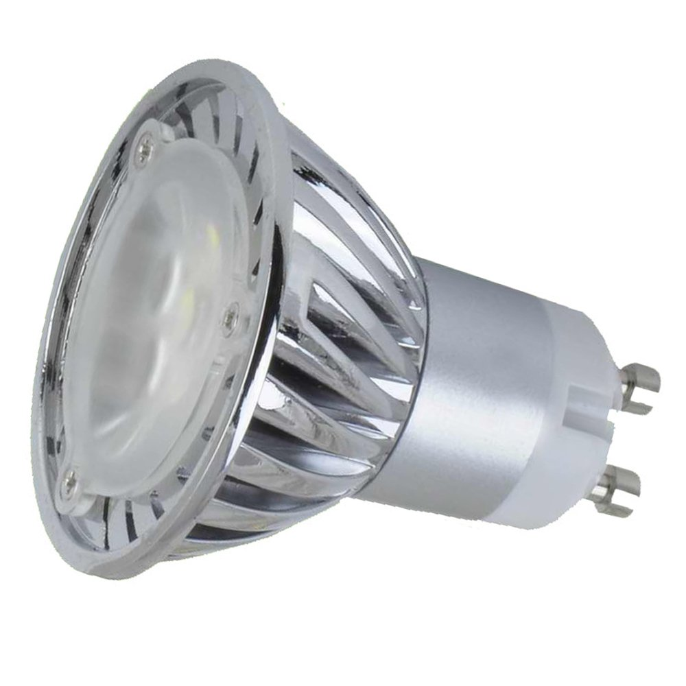 110v 3w gu10 led bulb 3200k warm white led spotlight 35w equivalent ebay. Black Bedroom Furniture Sets. Home Design Ideas