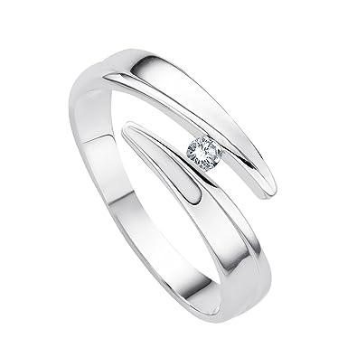Diamond Line 113520-Ladies Ring-White Gold 375/10009Carats Diamond