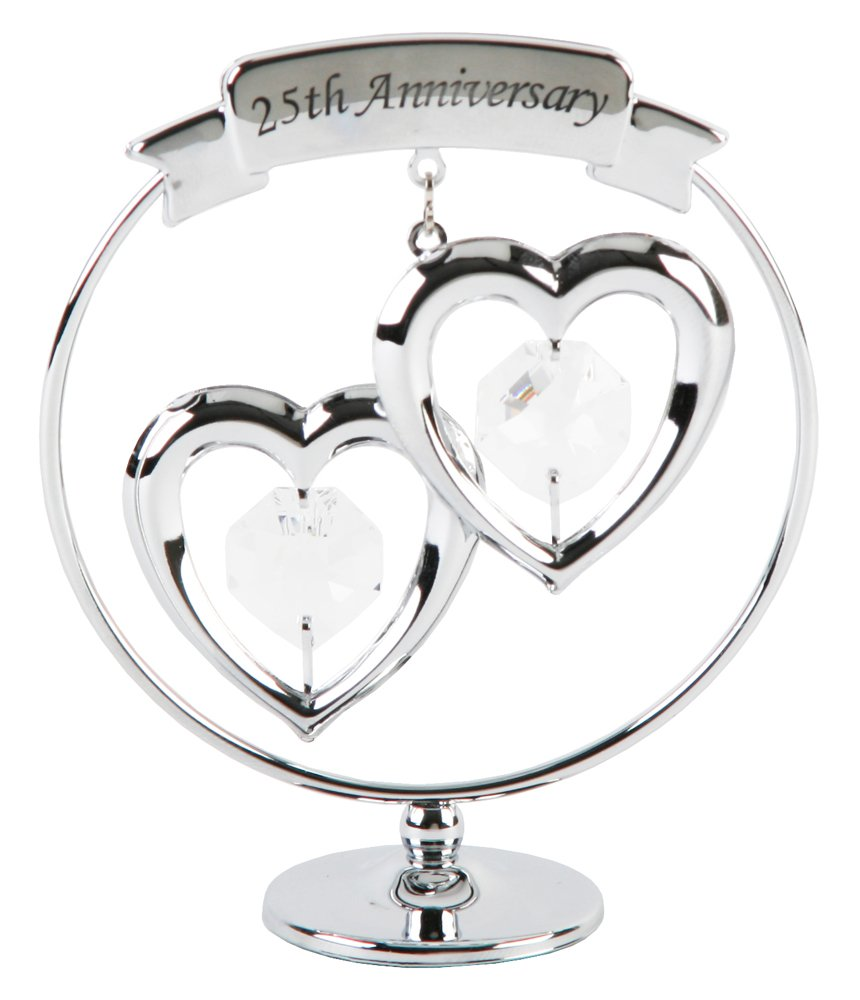 25th Year Silver Wedding Anniversary Gifts For Parents