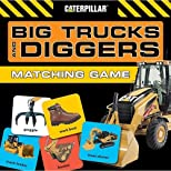 Big Trucks and Diggers Matching Game (Caterpillar)