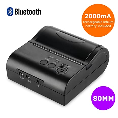 Bluetooth Wireless 80mm Thermodrucker