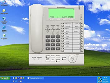 Panasonic PC Phone KX-NCS8100X, IP-Softphone,