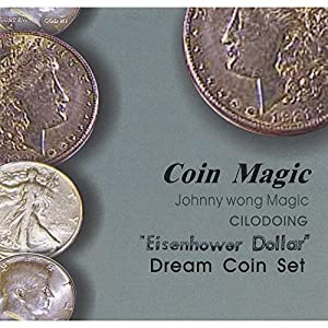 MMS Dream Coin Eisenhower Johnny Wong Trick Kit with DVD