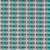 Speaker Grill Cloth Fabric Silver Turquoise Stripe Yard 36