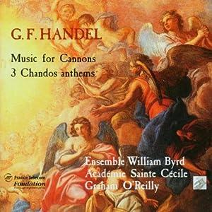 George Frederick Handel, Graham O'Reilly, Academie de Ste