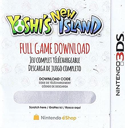 Yoshi's New Island Full Game Download Code - Nintendo 3DS eShop