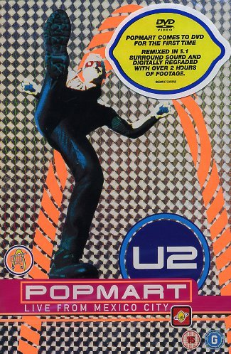 U2: Popmart - Live From Mexico City [DVD] [2007]