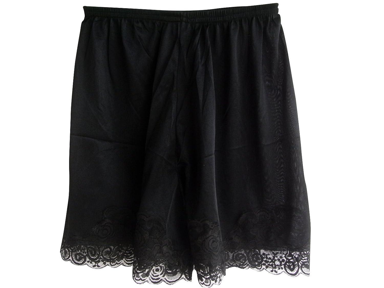 Damen Nylon Halb Slips Neu UPPNTBK BLACK Half Slips Women Pettipants Lace jetzt bestellen
