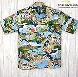 アロハシャツ メンズ TORI RICHARD ビンテージデザイン/BOAT DAY ALOHA (US XLサイズ)