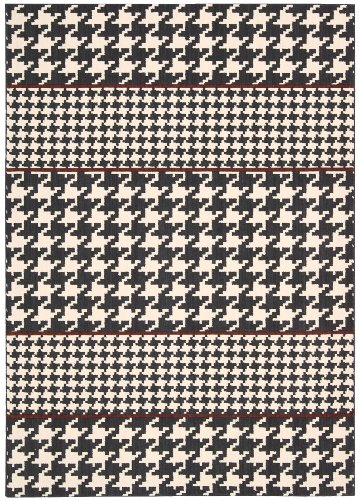 Joseph Abboud GRI03 Griffith Rectangle Machine Made Rug, 2.3 by 7.5-Feet, Domino