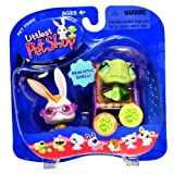 Hasbro Year 2006 Littlest Pet Shop Pet Pairs Real Feel Pets And Totally Talented Pets Series Collectible Bobble...
