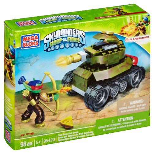 Mega Bloks Skylanders Troll Tank Gun Down - 1