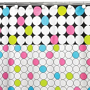 Amazon.com - Bright Lights Polka Dot Bathroom Collection Shower