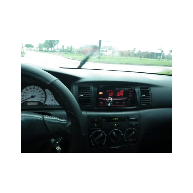 JVC KW HDR81BT Double DIN Car CD receiver with Bluetooth, HD Radio, iPod Capable