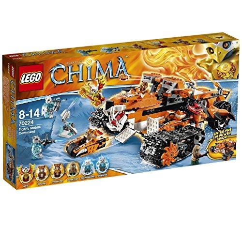 レゴ チーマ タイガー族の移動基地 70224