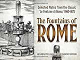 img - for The Fountains of Rome: Selected Plates from the Classic