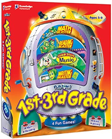 PlayZone! 1st Grade - 3rd Grade