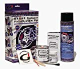 High Temperature High Gloss Self Leveling Brush On Red G2 Brake Caliper Paint System Kit