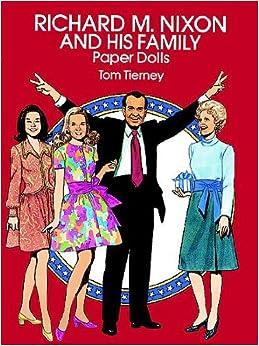 Richard Nixon Paper Doll