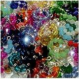 """Accessories"" For Littlest Pet Shop Set #1: 3 Random Crystal Collar & 3 Bows."