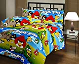Vasnm Angry Bird Single AC Reversible Quilt