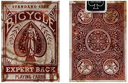 Bicycle Distressed Expert Back Playing Cards (2-Pack)