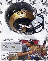 Sam Bradford Autographed St. Louis Rams Mini Helmet Authentic Signed Autograph