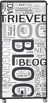 Simmob orga140non301Blog 301Armadio Mobile Computing con 2cassetti legno nero 53,1x 65,2x 139,9cm