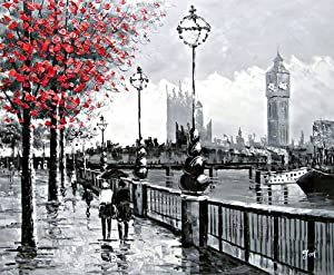 "Amazon.com: ""View Of London Big Ben From The South Bank by"