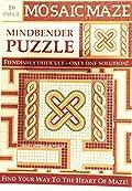 Mosaic Maze Puzzle.