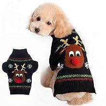 BOBIBI Pet Christmas Holiday Cartoon Clown