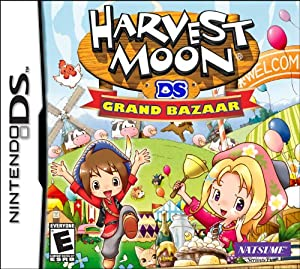 Harvest Moon: Grand Bazaar - Nintendo DS Standard Edition
