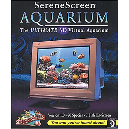 Serene Screen Aquarium-The Ultimate 3D Virtual Aquarium