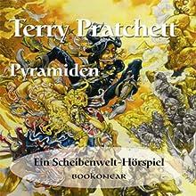 Pyramiden Hörspiel von Terry Pratchett Gesprochen von: Marcel Reif, Ludwig Schütze, Matthias Albold
