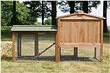 Stall 1 PL Kaninchenstall Hasenstall Kaninchenkäfig Hasenkäfig Meerschweinchenstall -