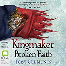 Broken Faith Audiobook by Toby Clements Narrated by Jack Hawkins