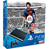 "PlayStation 3 - Konsole Super Slim 500 GB (inkl. DualShock 3 Wireless Controller + FIFA 13)von ""Sony"""