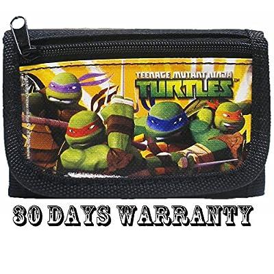 Ninja Turtles Black Trifold Wallet by TMNT
