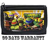 Ninja Turtles Black Trifold Wallet